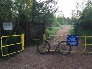 New Santa Fe Trail Re-opens
