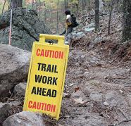 Temporary Trail Closure Notice